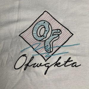 Odd Future Embroidered Logo tee Size S